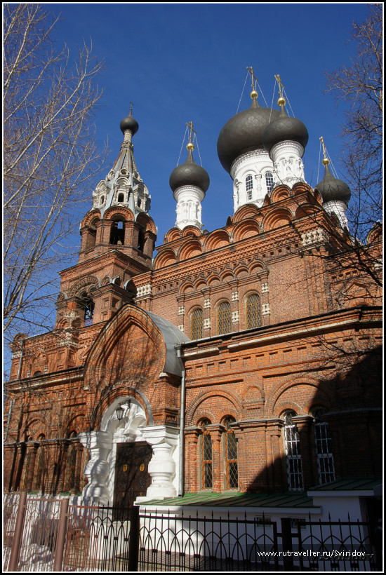 Храм Всемилостивого Спаса на Полтавской.