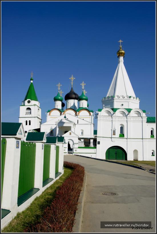 Вознесенский Печерский мужской монастырь.