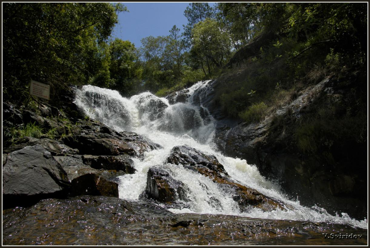 Далат. Водопад Датанла (Datanla)