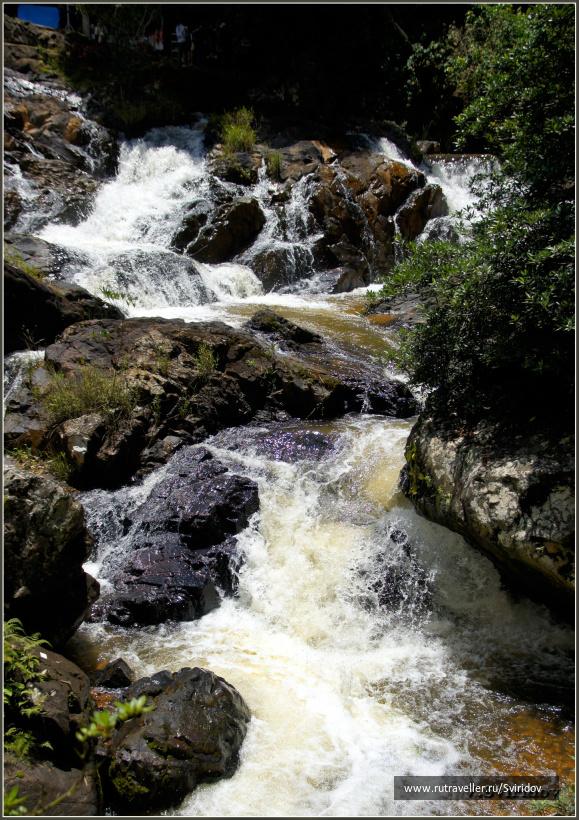 Далат. Водопад Датанла (Datanla).