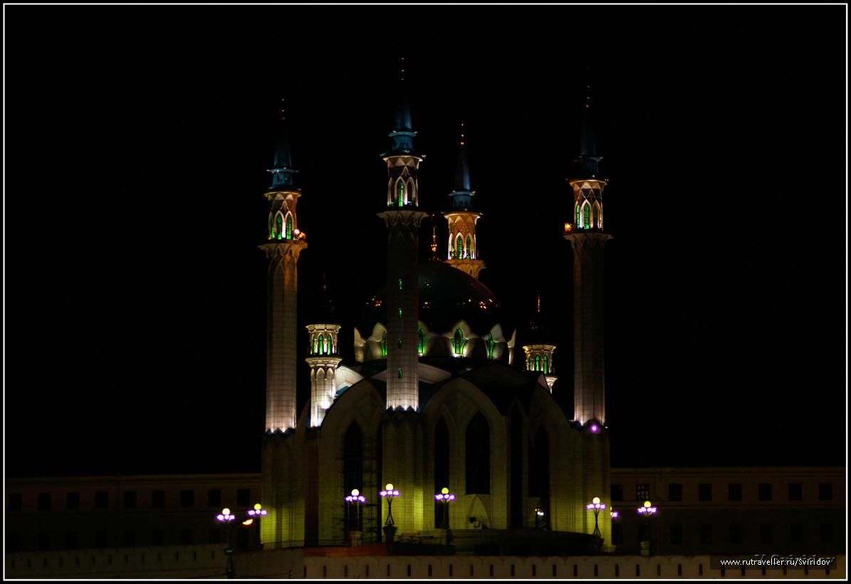 Казань. Кремль. Кафедральная мечеть Кул-Шариф