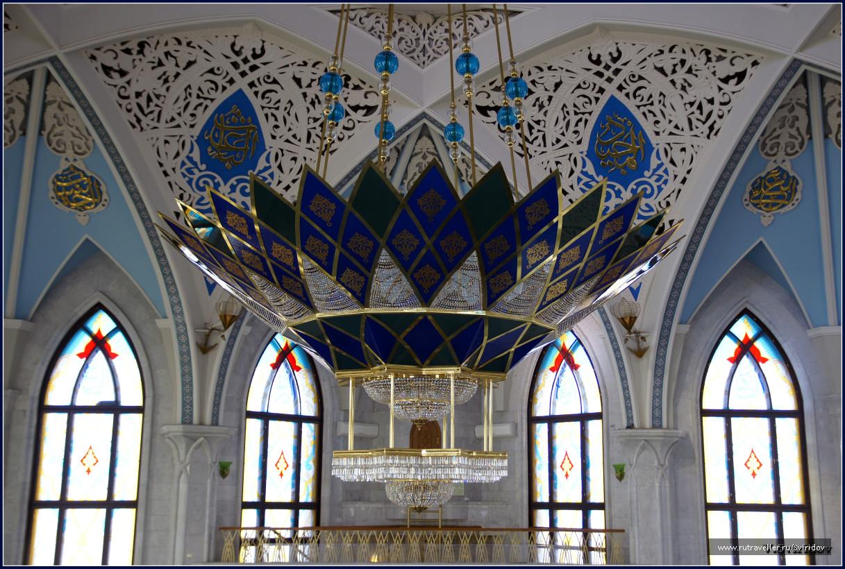 Люстра Кафедральной мечети Кул-Шариф.