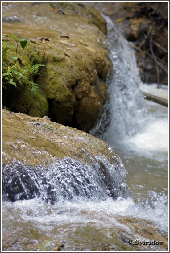 На пути к водопаду Эль Лимон.