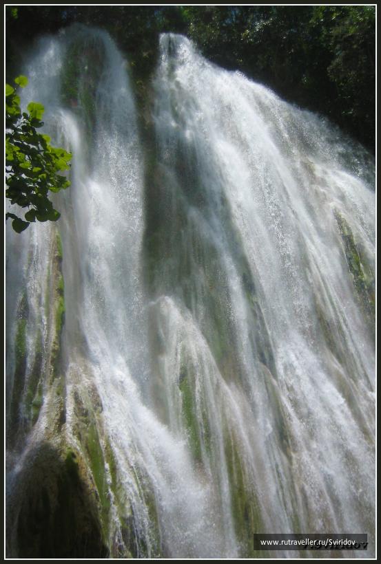 Водопад Эль Лимон.