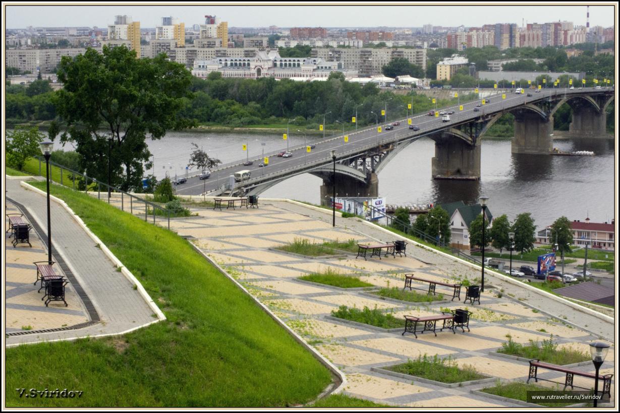 Нижний Новгород. На набережной Федоровского.