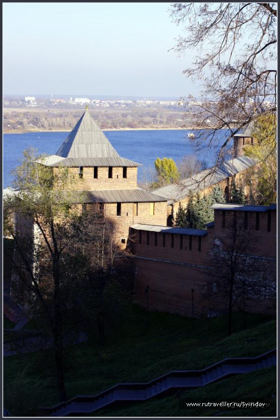 Ивановская башня Нижегородского Кремля.