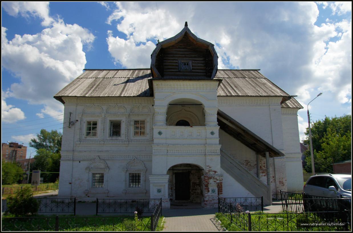 Палаты Нижегородского купца Афанасия Фирсовича Олисова.