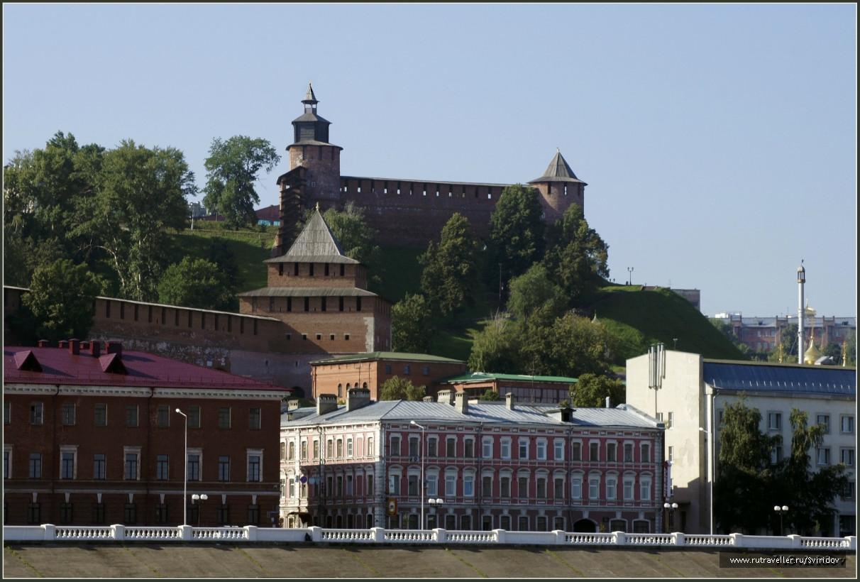 Вид на Кремль с Волги.