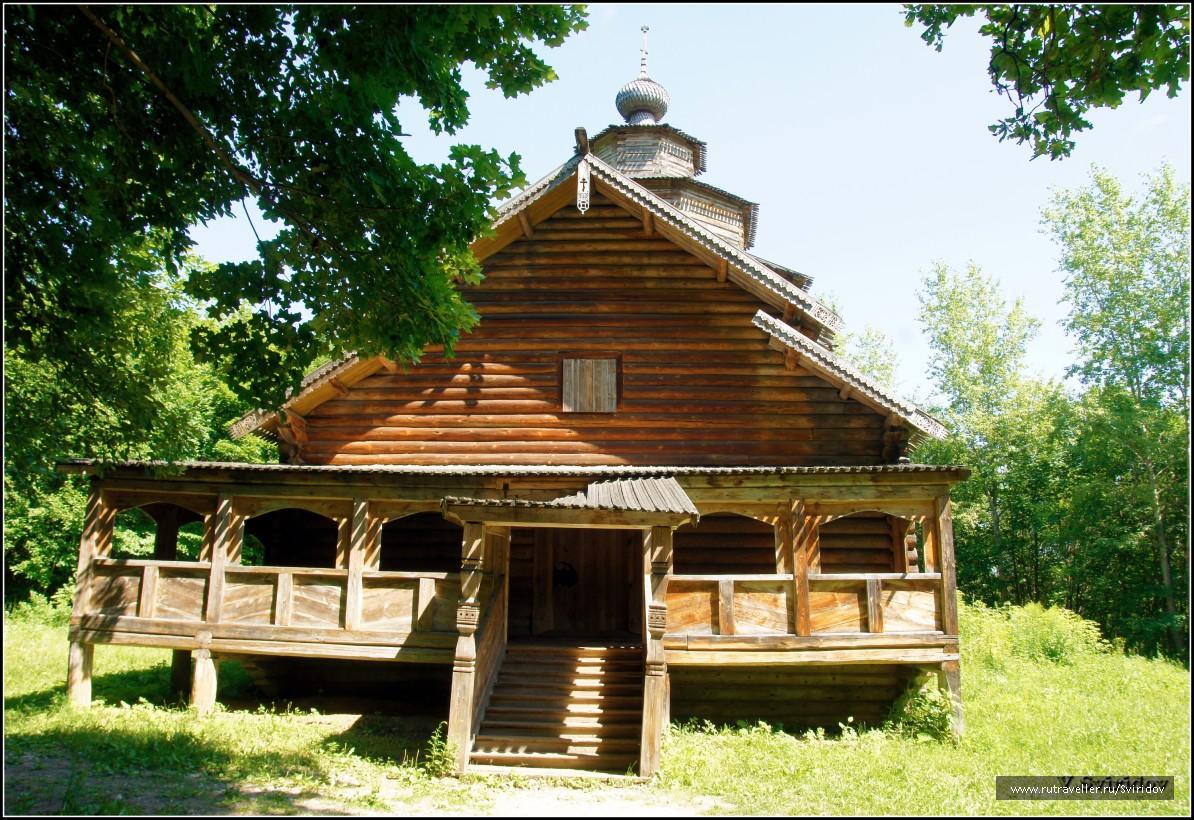 Музей-заповедник «Щелковский хутор». Покровская церковь, XVIII в.