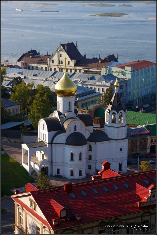 Вид со стен Кремля.