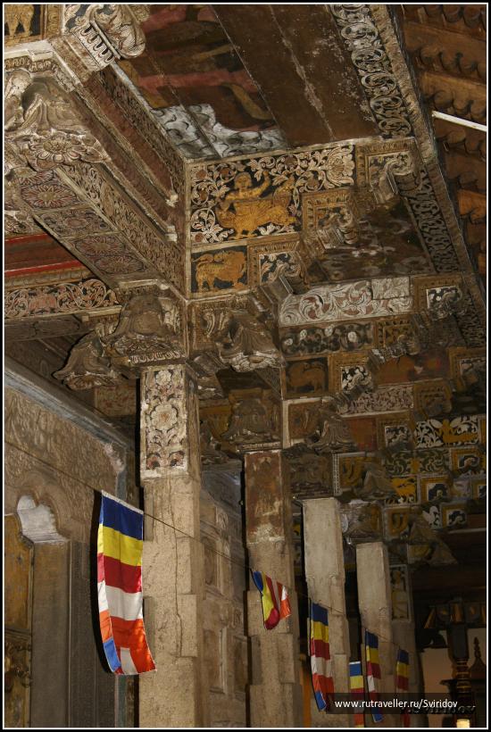 Канди. Храм Далида Малигава (Зуба Будды).