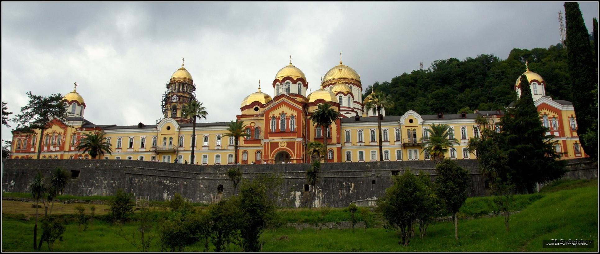 Новоафонский Симоно-Кананитский мужской православный монастырь.