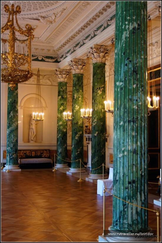 Павловский дворец. Греческий зал.
