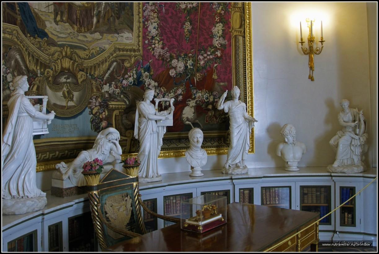 Музей «Павловский дворец». Ковровый кабинет.