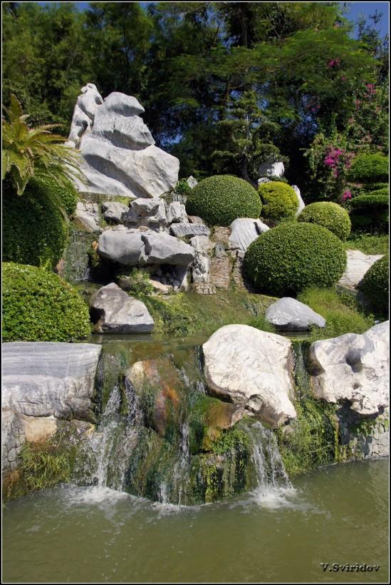 Парк миллионолетних камней.