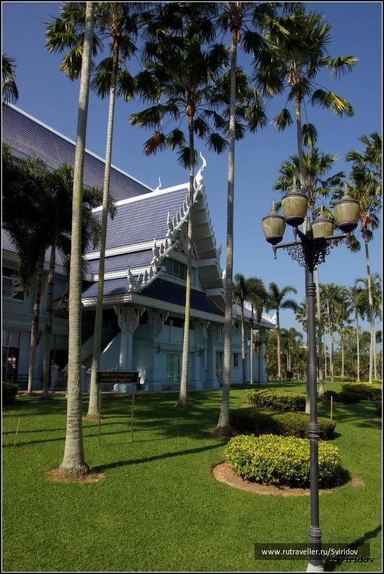 Постройка в храмовом комплексе Ват Ян (Wat Yan).