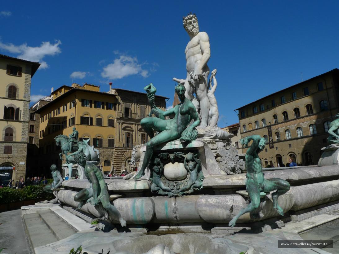 памятник Нептуну на пьяцца Сеньории