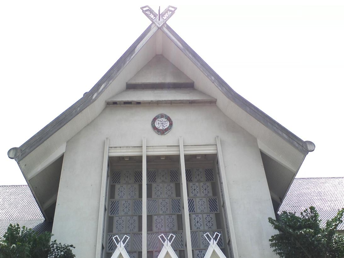 Фасад входа в музей