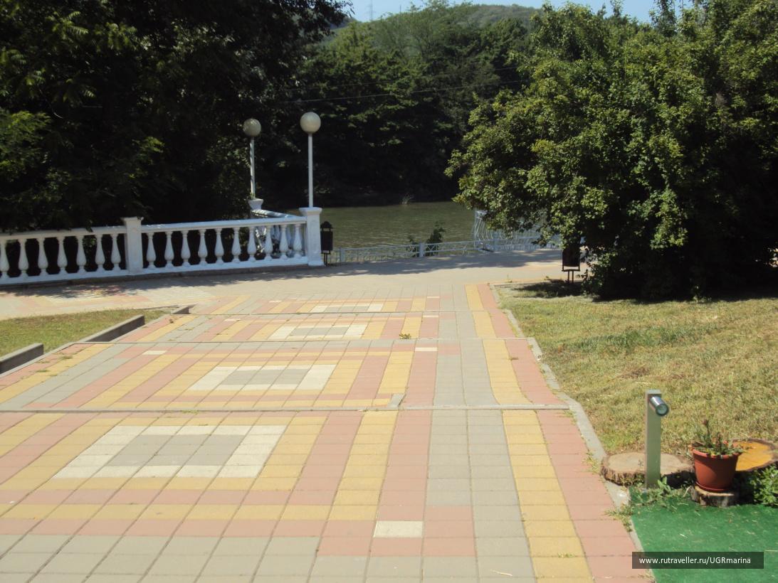 На территории курорта г. Горячий Ключ