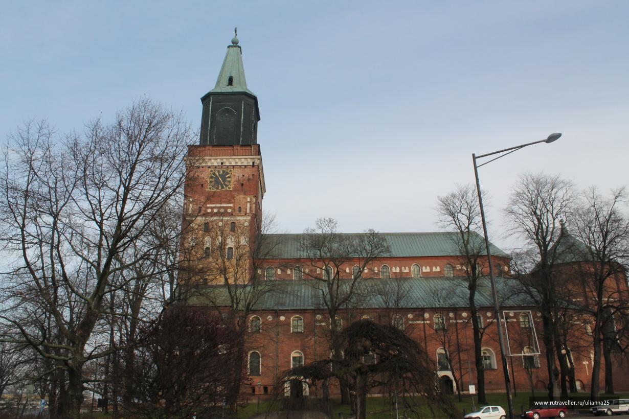 Турку.Кафедральный собор.