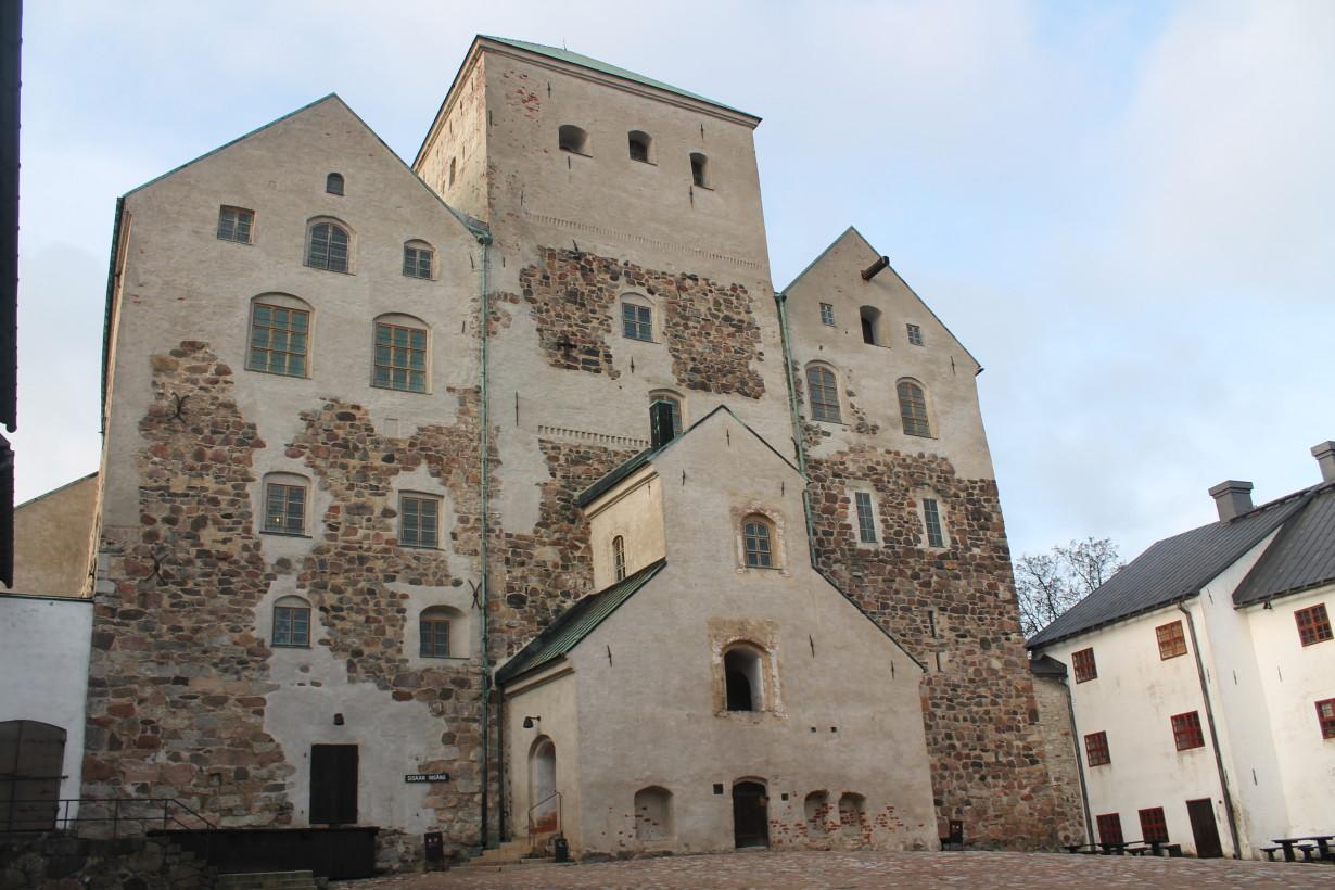 Турку.Замок-крепость.
