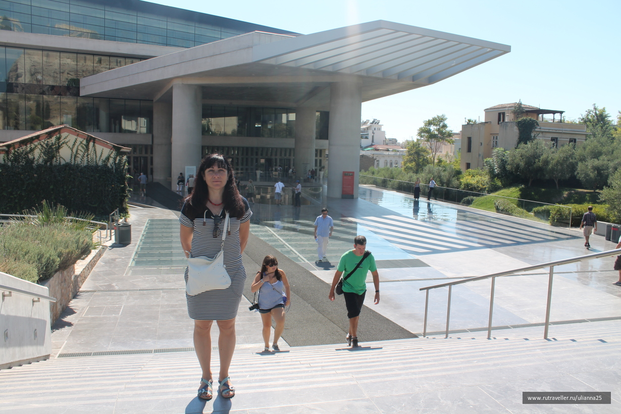Греция. Афины.Музей Акрополя.