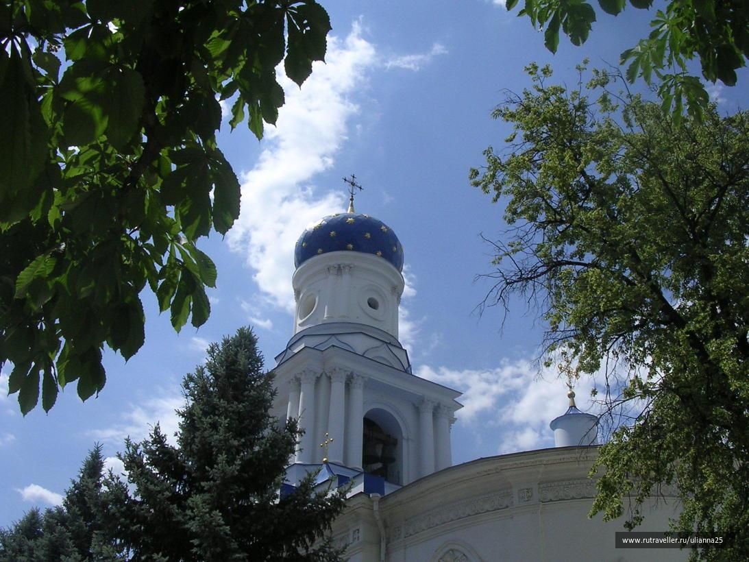 Святогорская Успенская лавра.