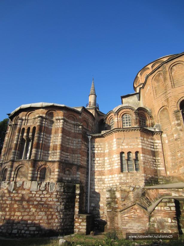 Стамбул.Музей Мозаик в церкви  Хора.
