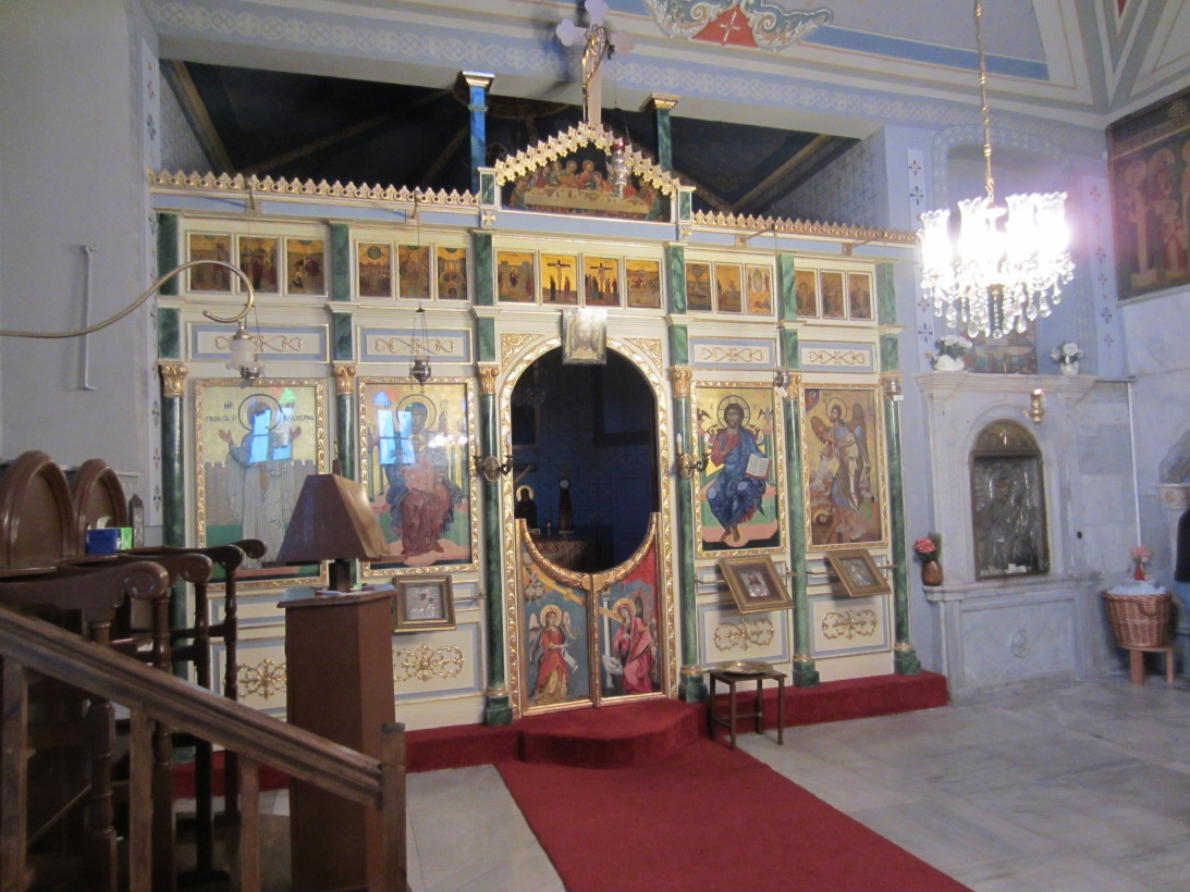 Стамбул.Церковь Влахерна.