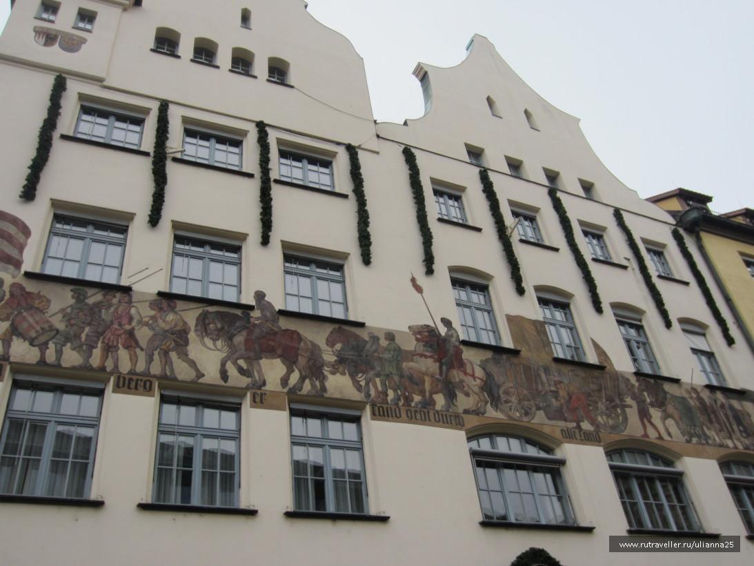 Рыночная площадь Нюрнберга.