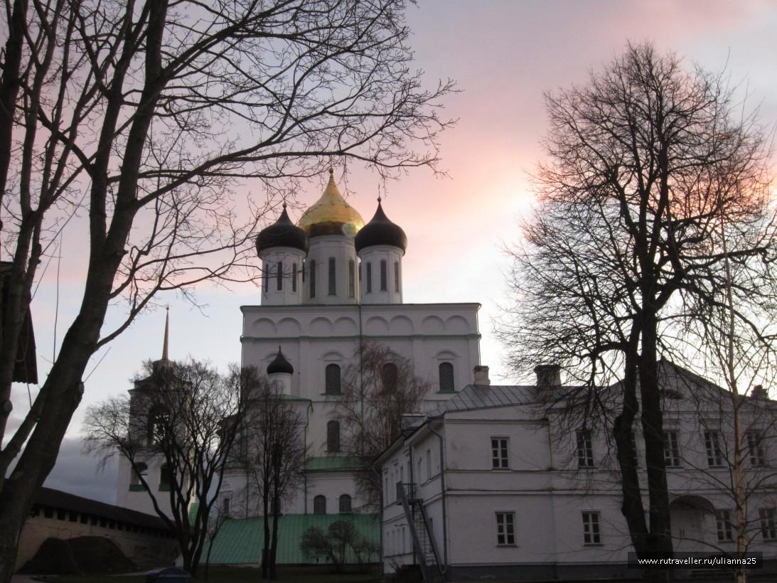 Псков.Троицкий собор.