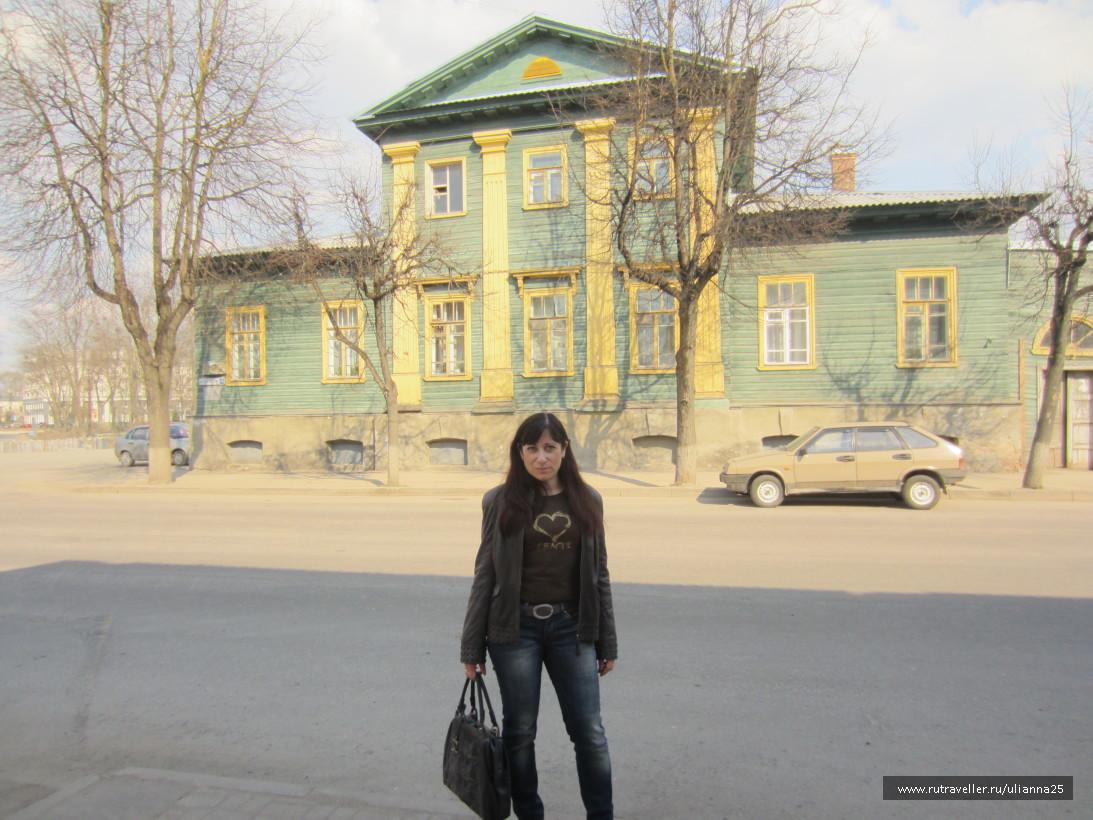 Дом вице-губернатора Л.Перовского.Псков.