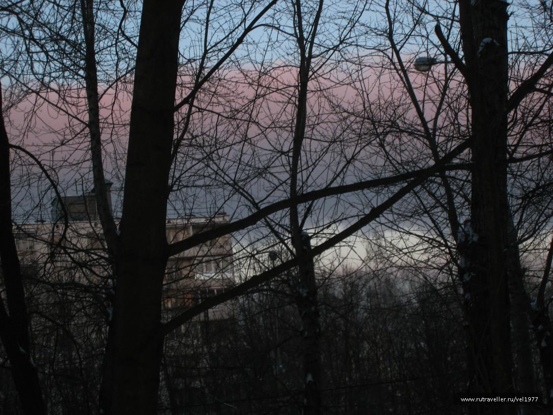 Разноцветное небо