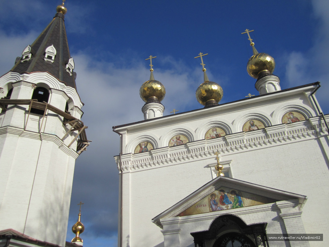 Городец Федоровский монастырь