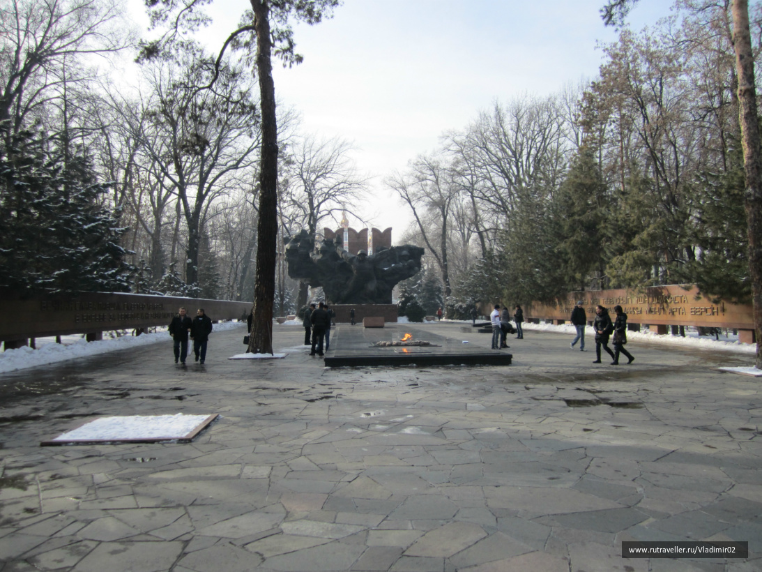 Памятник Панфиломцам