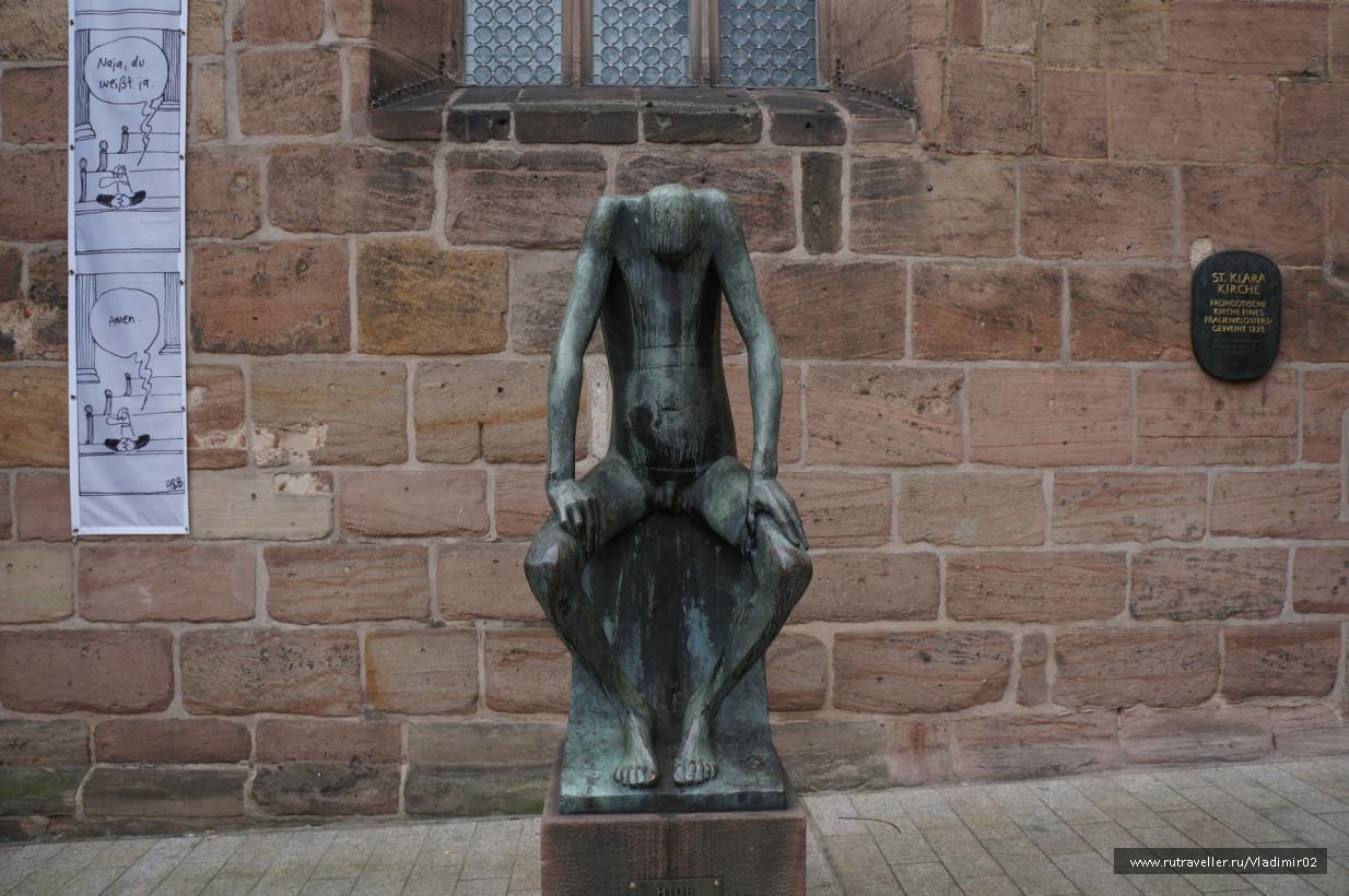 Скульптура Иова(Hiob)